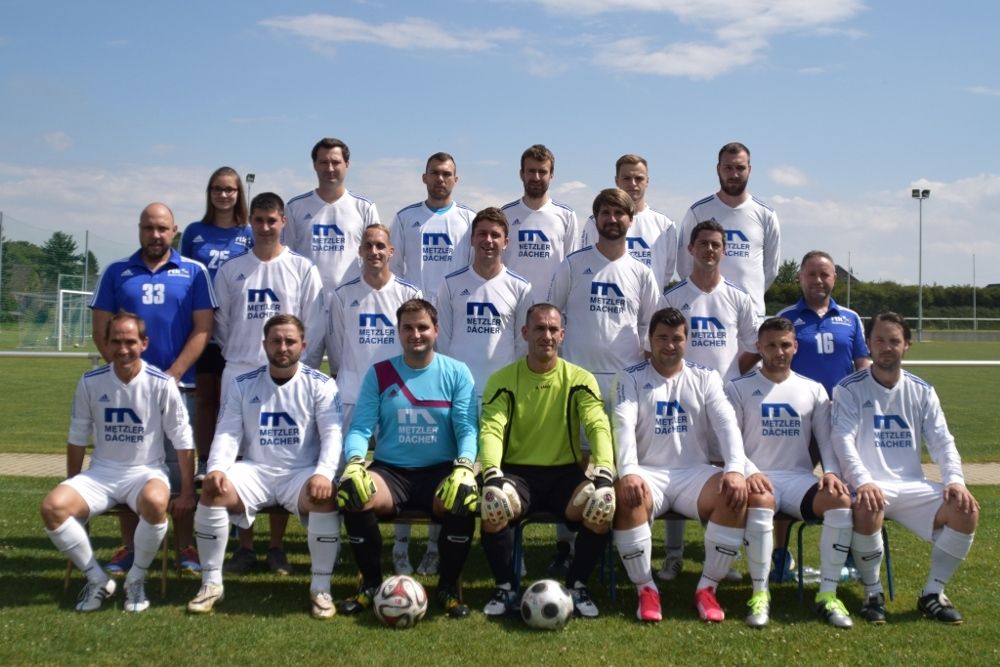 Dritte Mannschaft des SV Blau Weiss Zorbau - Kreisliga Burgenlandkreis