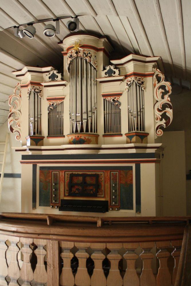 Orgel der Zorbauer Marienkirche