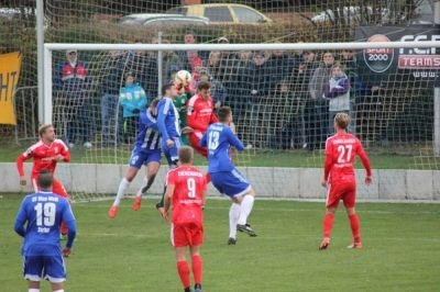 Pokalsspiel gegen des Halleschen FC