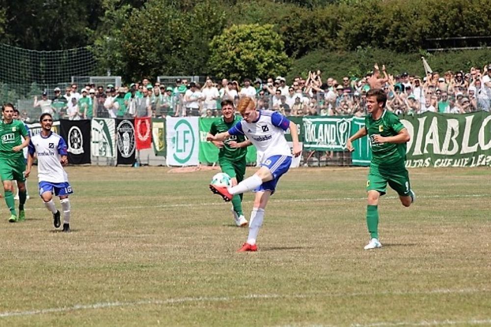 Zorbau spielt gegen Chemie Leipzig